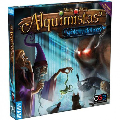 Alquimistas - El Golem del Rey