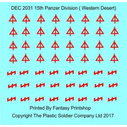 15th Panzer Division Western Desert
