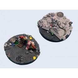 Urban War Bases - Round 60mm (1)