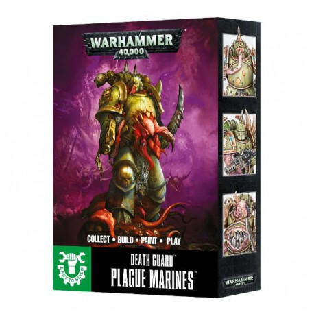 Easy to Build Death Guard Plague Marines (3)