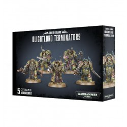 Death Guard Blightlord Terminators (5)