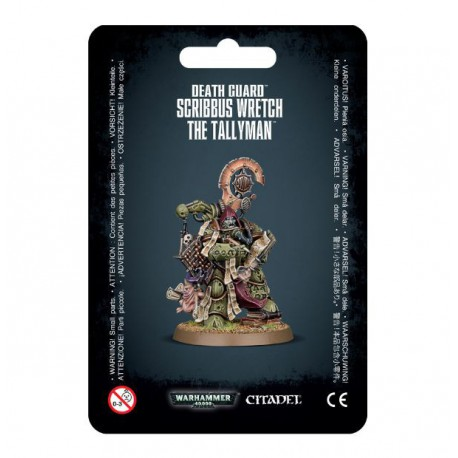 Death Guard Scribbus Wretch The Tallyman (1)