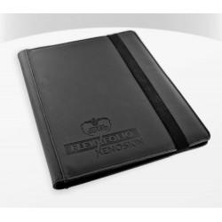 FlexXfolio XenoSkin 9-Pocket Sleeves Black