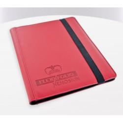 FlexXfolio XenoSkin 9-Pocket Sleeves Red