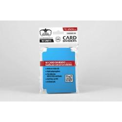 Tarjetas Separadoras para Cartas Tamaño Estándar Azul (10)