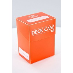 Deck Case 80+ Caja de Cartas Tamaño Estándar Naranja