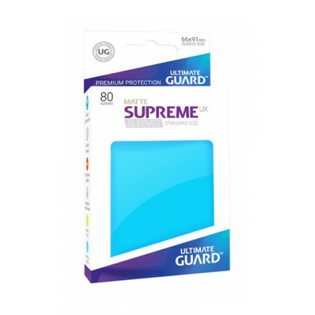 Supreme Ux Sleeves Standard Matte Blue (80)