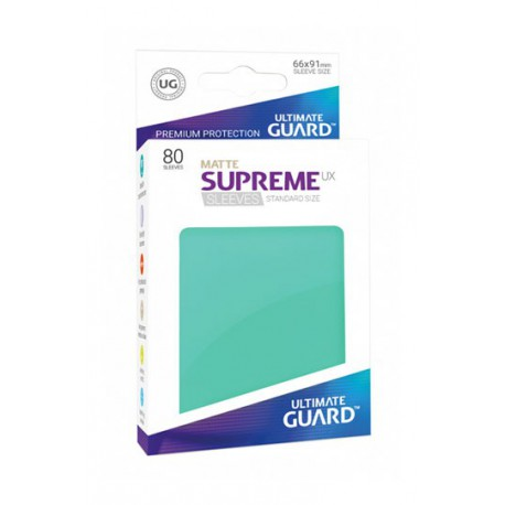 Supreme Ux Sleeves Standard Matte Turqoise (80)