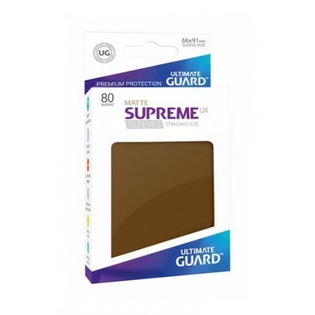 Supreme Ux Sleeves Standard Matte Brown (80)