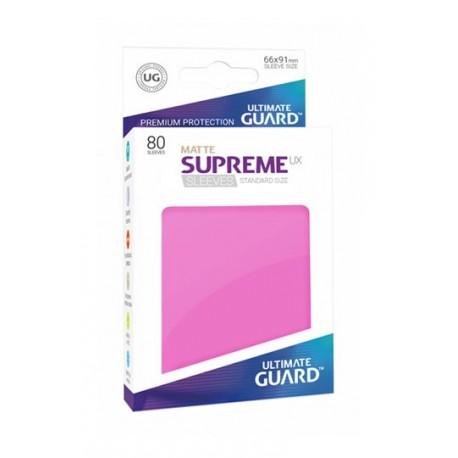 Supreme Ux Sleeves Standard Matte Pink (80)