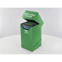 Deck'n'Tray Case 100+ Caja de Cartas Tamaño Estándar Verde