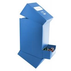 Deck'n'Tray Case 100+ Caja de Cartas Tamaño Estándar Azúl
