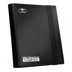 Mini American 9-Pocket FlexXfolio Carpeta para Cartas Negro