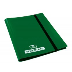 9-Pocket FlexXfolio Carpeta para Cartas Verde