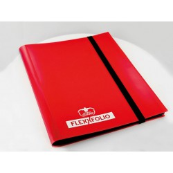 9-Pocket FlexXfolio Carpeta para Cartas Rojo