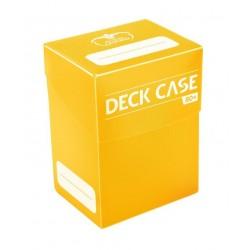 Deck Case 80+ Caja de Cartas Tamaño Estándar Amarillo