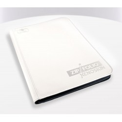 9-Pocket ZipFolio XenoSkin Carpeta para Cartas Blanco