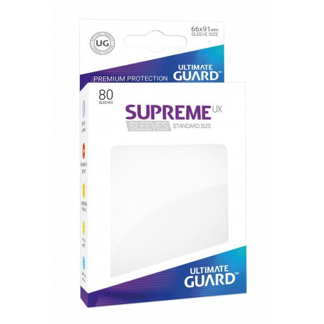 Supreme Ux Sleeves Standard White (80)