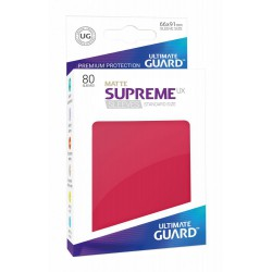 Supreme Ux Sleeves Standard Matte Red (80)