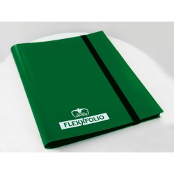 4-Pocket FlexXfolio Carpeta para Cartas Verde