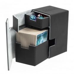 Flip'n'Tray Deck Case 100+ Caja de Cartas Tamaño Estándar XenoSkin Negro