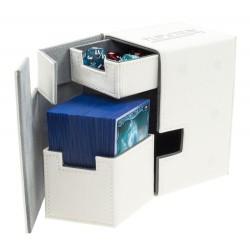 Flip'n'Tray Deck Case 100+ Caja de Cartas Tamaño Estándar XenoSkin Blanco