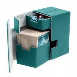 Flip'n'Tray Deck Case 100+ Caja de Cartas Tamaño Estándar XenoSkin Gasolina Azul