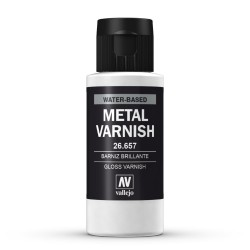 Gloss Metal Varnish 60ml