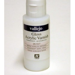 Gloss Varnish 60ml.