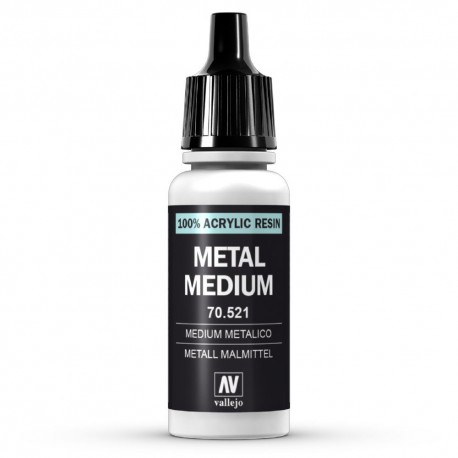 Medium Metálico 17ml