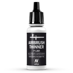 Diluyente Aerógrafo Thinner 17ml