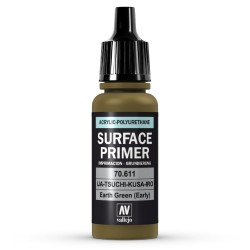 Surface Primer Earth Green early