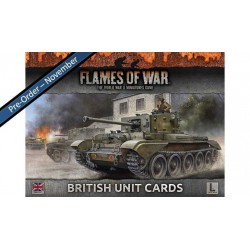 British Unit Cards Late-War V4
