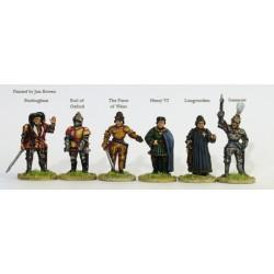 Lancastrian command on foot