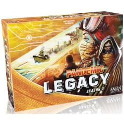 Pandemic Legacy Season 2 Amarillo (Spanish)