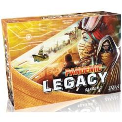 Pandemic Legacy Season 2 Amarillo (Spanish)
