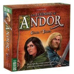 Las Leyendas de Andor: Chada y Thorn (Spanish)