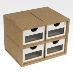 Drawers Module x 4 (Small module)