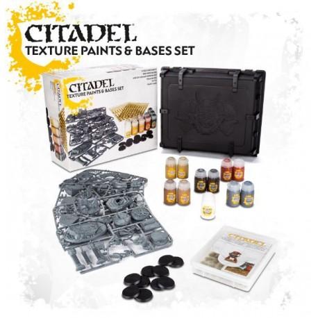 Citadel Texture Paints & Bases Set 2017