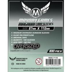 Fundas Magnum Oversized Dungeon - 87x112mm (100)