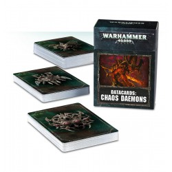 Datacards: Chaos Daemons (Inglés)