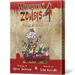Munchkin Zombis 4: Piezas de Repuesto (Spanish)