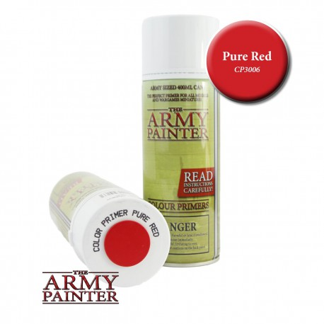 Colour Primer - Pure Red