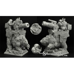 Dwarven Cannon on War Bear