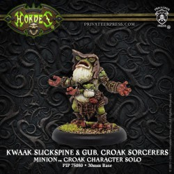 Kwaak Slickspine & Gub, Croak Sorcerers