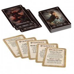 Kings of War Tactics Deck (Inglés)