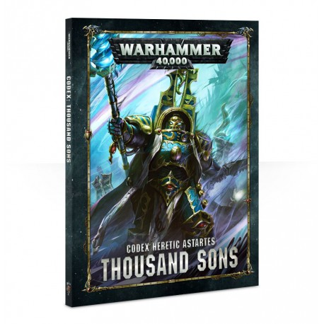 Codex: Thousand Sons (Inglés)