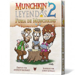 Munchkin Leyendas 2: Furia de Munchkins (Spanish)