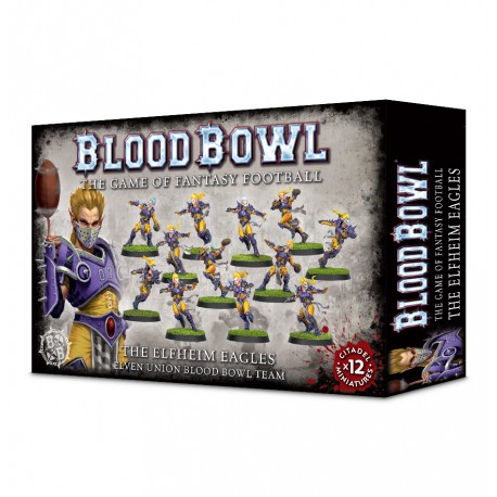 The Elfheim Eagles Blood Bowl Team