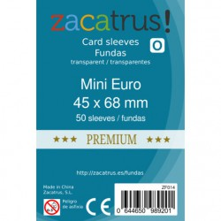 Fundas Mini Euro Premium - 45x68mm (50)